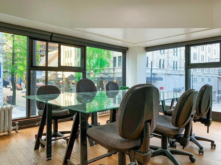 Meeting Room Rental - Vancouver - Room 4A - View 1